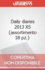 Daily diaries 2013 XS (assortimento 18 pz.) articolo per la scrittura di Moleskine
