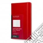 Agenda 2014 Settimanale - Large Copertina Rigida Rossa articolo per la scrittura