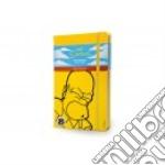 The Simpsons. Limited edition notebook. Large. Ruled. Copertina rigida gialla articolo per la scrittura