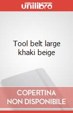 Tool belt large khaki beige articolo per la scrittura