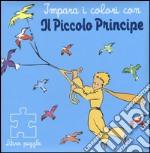 Impara i colori con il Piccolo Principe. Libro puzzle articolo per la scrittura