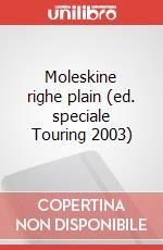 Moleskine righe plain (ed. speciale Touring 2003) articolo per la scrittura