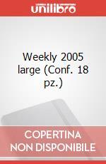 Weekly 2005 large (Conf. 18 pz.) articolo per la scrittura di Moleskine