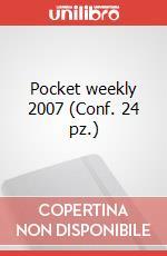 Pocket weekly 2007 (Conf. 24 pz.) articolo per la scrittura di Moleskine