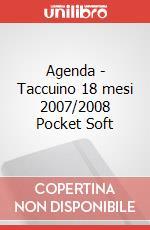 Agenda - Taccuino 18 mesi 2007/2008 Pocket Soft articolo per la scrittura