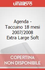 Weekly notebook 2007-2008 18 mesi Xlarge articolo per la scrittura