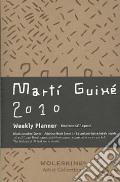 """Agenda Settimanale Orizzontale Pocket 2010 - Pelle Nera """"MARTI GUIXE'  Artist's Cover"""" art vari a"""