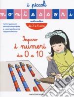 Impara i numeri. I piccoli Montessori articolo per la scrittura