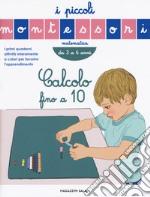 Conta fino a 10. I piccoli Montessori articolo per la scrittura